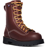 Super Rain Forest™ Brown Plain Toe Work Boots