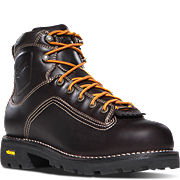 "Quarry™ 6"" Plain Toe Brown Work Boots"