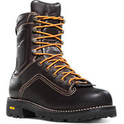 Quarry™ 400G Plain Toe Brown Work Boots
