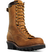 Quarry™ Logger Plain Toe Work Boots