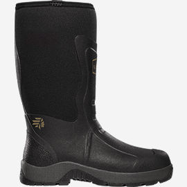 "Alpha Mudlite 12"" Plain Toe Work Boots"