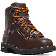 "Quarry USA 6"" Brown GTX Alloy Toe"