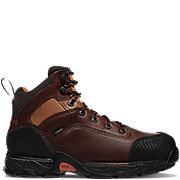 Corvallis™ GTX® Plain Toe Work Boots Brown