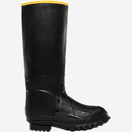"ZXT Knee Boot 16"" Black Foam"