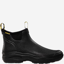 "Men's Hampton 6"" Black 3.0MM"