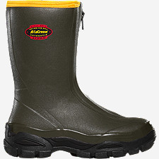 "Alphaburly® Sport Front-Zip 12"" Hunting Boots"