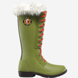"Hixon 15"" Women's Green Boots"