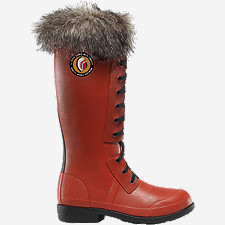 "Hixon 15"" Women's Red Boots"