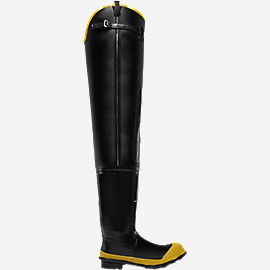 "Economy Hip Boot 32"" Black ST"