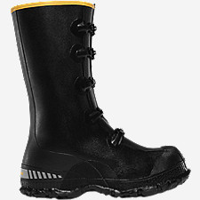 "ZXT Buckle Wedge Overshoe 14"" Black"