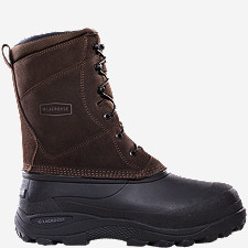 Pine Top Brown Leather 400G Pac Boots