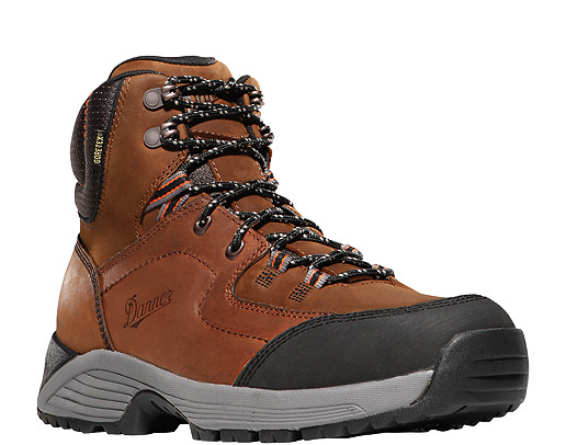 Cloud Cap All-Leather Brown Hiking Boots