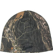 Reversible Knit Beanie: Mossy Oak® Break-Up® to Blaze Orange
