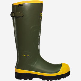 "SPOG 16"" Olive Green Safety Toe Work Boots"