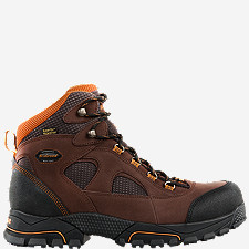 "Gridline 6"" Brown DC Steel Toe"