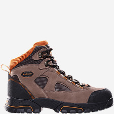 "Gridline 6"" Brown Steel Toe"