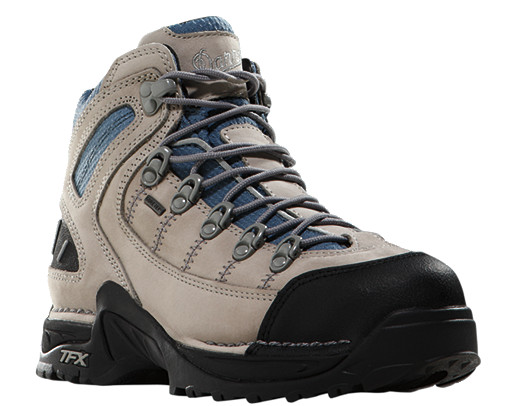 453 GTX Womens Grey/Blue Hiking Boots