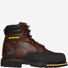 "Brakeman™ 6"" Non-Metallic Safety Toe Work Boots"