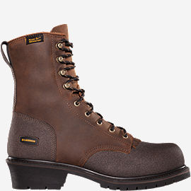 Extreme Tough™ Logger Plain Toe Work Boots