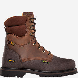 "Extreme Tough™ 8"" 600G Non Metallic Safety Toe Work Boots"