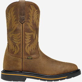 "Tallgrass Square Toe DC 11"" Brown"