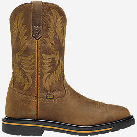 "Tallgrass Square Toe DC 11"" Brown NMT"