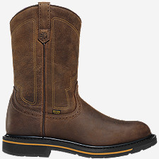 "Tallgrass Western Toe DC 11"" Brown"