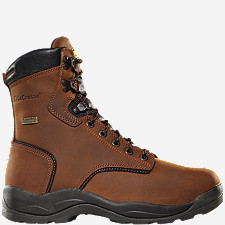 Quad Comfort® 4x8 Plain Toe Work Boots