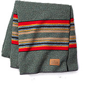 Pendleton Green Heather Camp Blanket