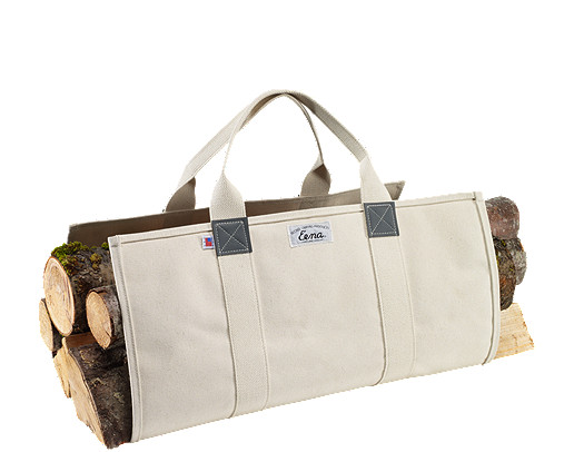 Beckel Canvas Log Carrier