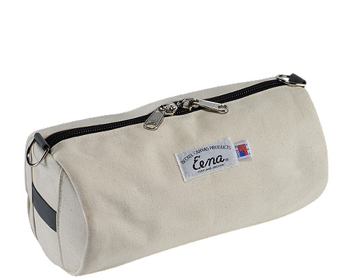 Beckel Canvas White Catch All Bag