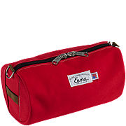 Beckel Canvas Red Catch All Bag