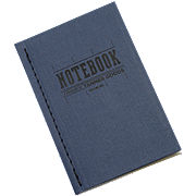 Tanner Goods Cobalt Notebook