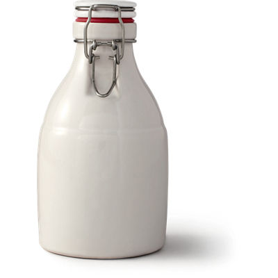 PGC Growler No Handle - 32 oz. White