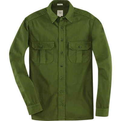 Taylor Stitch Highlands Shirt - Olive