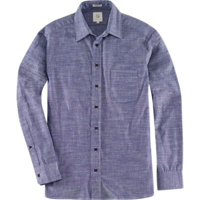 Taylor Stitch Chambray Caifornia Shirt - Navy