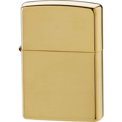 Zippo Lighter High Polish Brass