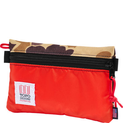 Topo Designs Accessory Bag Sm - Camo/Orange