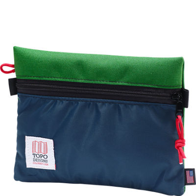 Topo Designs Accessory Bag Medium - Kelly/Navy