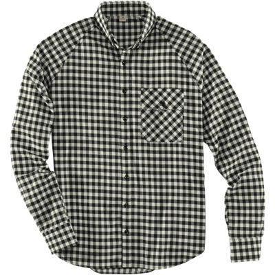 Freeman Staple Shirt - Black White Check