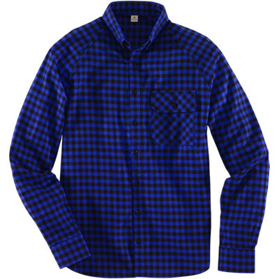 Freeman Staple Shirt - Black Royal Check