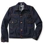 Lee 101 Denim Selvage Jacket - Badlands