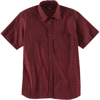 Feltraiger SS Plaid Liberty Shirt - Red