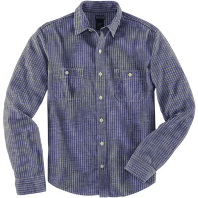 Dickies 1922 LS Selvage Japanese Chambray Shirt - Indigo
