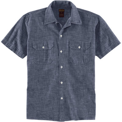 Dickies 1922 SS Selvage Chambray Shirt - Indigo