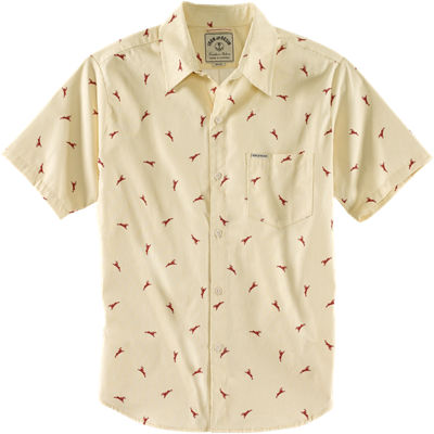 Iron and Resin Jackalope Shirt - Cream