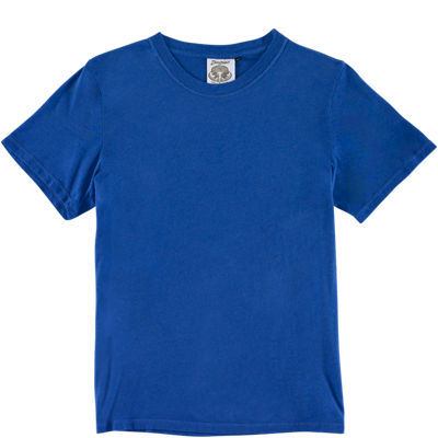 Jungmaven SS Saturday Tee - Surf Blue