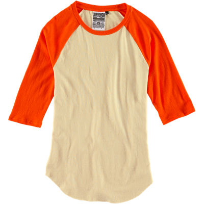 Jungmaven Stone Raglan Color Sleeve - Orange