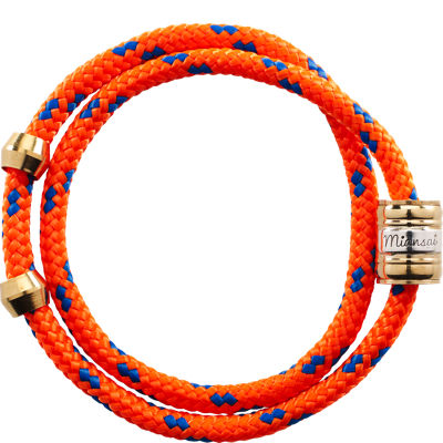 Miansai Casing Rope Wrap - Orange