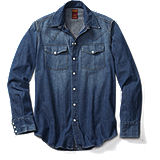 Dickies 1922 Western Denim Shirt - Washed